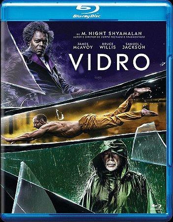 Blu Ray  Vidro  Samuel L. Jackson