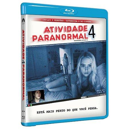 Blu Ray  Atividade Paranormal 4