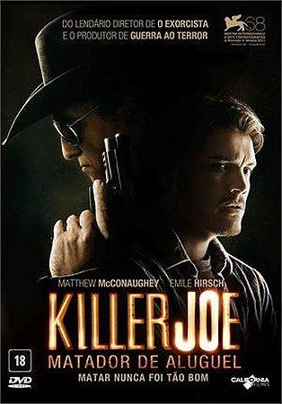 Dvd Killer Joe  Matador De Aluguel  Matthew Mcconaughey
