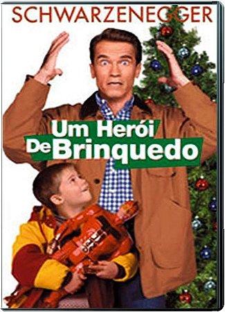 Dvd  Um Herói de Brinquedo  Arnold Schwarzenegger