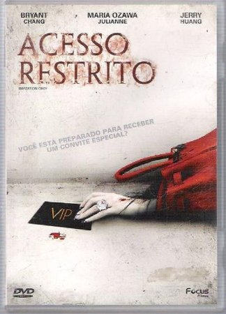 Acesso Restrito  DVD