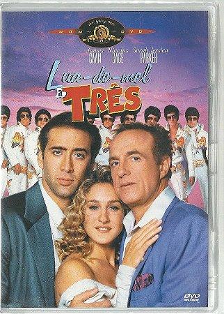 Lua de Mel A Três (1992) Nicolas Cage  DVD