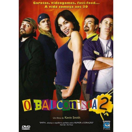 Dvd O BALCONISTA 2  Kevin Smith