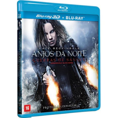 Bluray 3d / Bluray   Anjos Da Noite Guerras De Sangue Kate Beckinsale