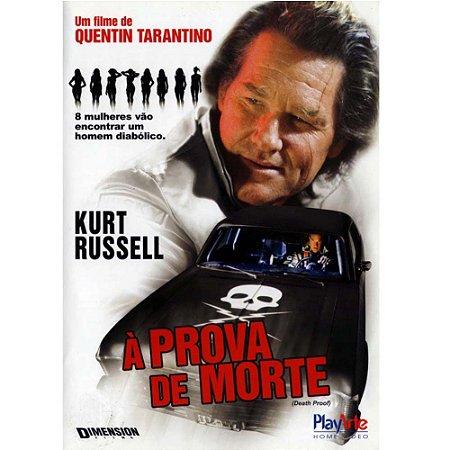 Dvd  A Prova de Morte  Kurt Russell