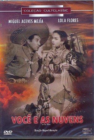 Dvd  Você E As Nuvens - Miguel Aceves Mejía