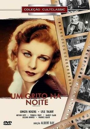 Dvd  Um Grito Na Noite  Ginger Rogers