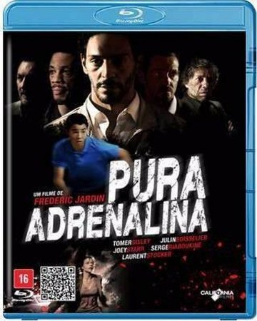 Blu Ray  Pura Adrenalina  Tomer Sisley
