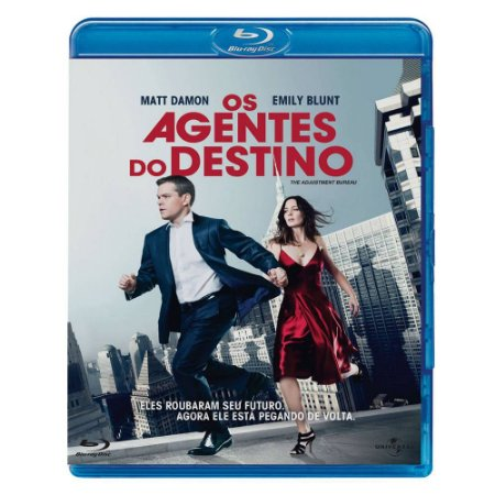 Blu ray Os Agentes Do Destino Matt Damon
