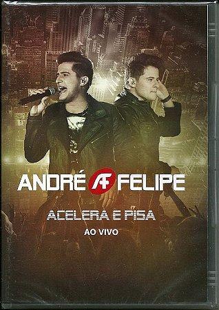 Dvd  André & Felipe  Acelera E Pisa