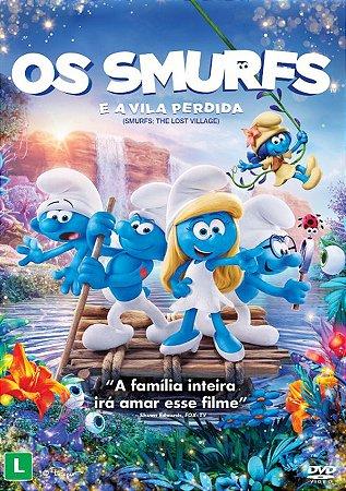 DVD - Os Smurfs e A Ilha Perdida