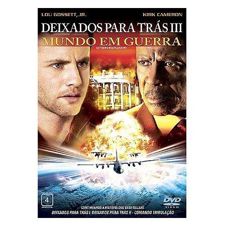 Dvd Deixados Para Trás 3: Mundo em Guerra - Kirk Cameron