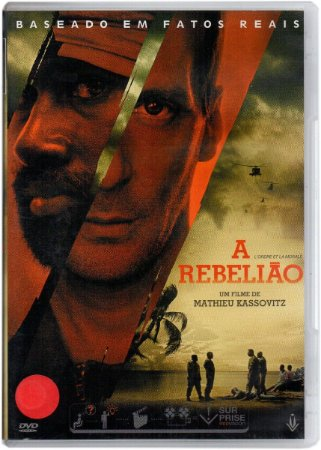 Dvd A Rebelião  Mathieu Kassovitz