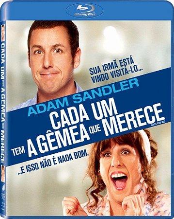 Blu ray  Cada Um Tem A Gêmea Que Merece  Adam Sandler