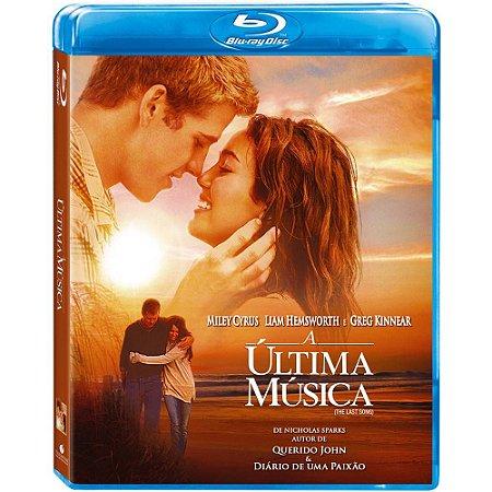 Blu ray  A Última Música  Miley Cyrus