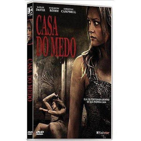 Dvd  Casa do Medo  Christian Campbell