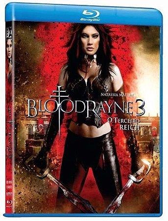 Blu ray  Bloodrayne 3: O Terceiro Reich  Natassia Malthe
