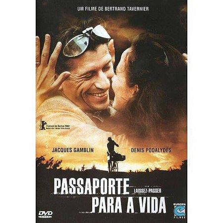 Dvd  Passaporte Para A Vida  Denis Podalydès