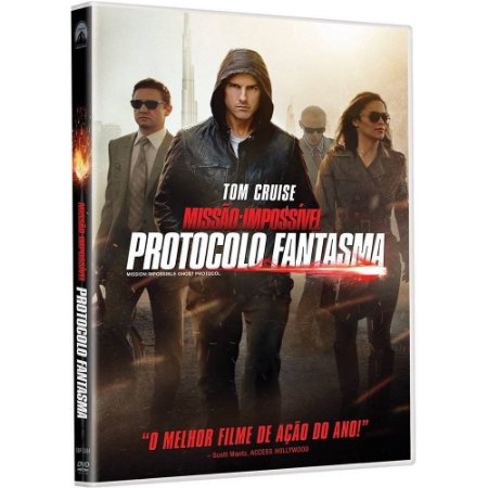 Dvd  Missão Impossível: Protocolo Fantasma  Tom Cruise