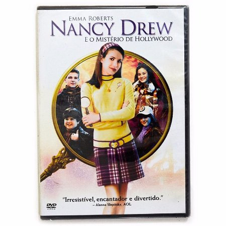 Dvd  Nancy Drew: E o Mistério de Hollywood   Emma Roberts