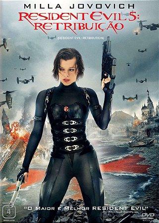 Dvd  Resident Evil 5: Retribuição  Milla Jovovich