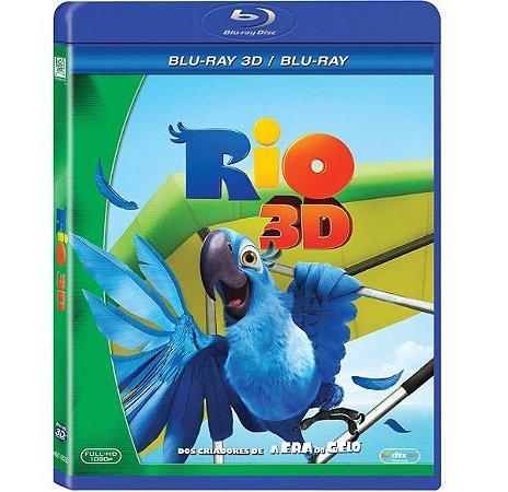 Blu Ray 3D + Blu Ray Rio