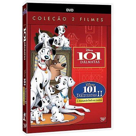 Dvd 101 Dálmatas 1 e 2 Coleção com 2 filmes