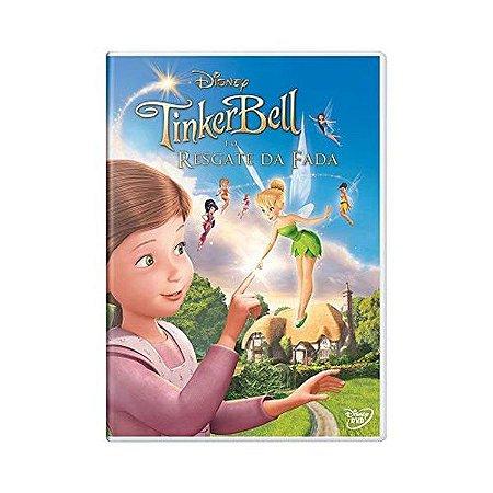 Dvd - Tinker Bell E O Resgate Da Fada