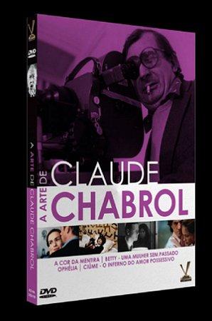 Dvd A Arte de Claude Chabrol (2 Discos)
