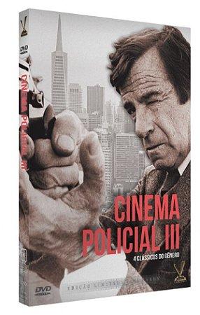 Dvd Cinema Policial Vol. 3 (2 DVDs)