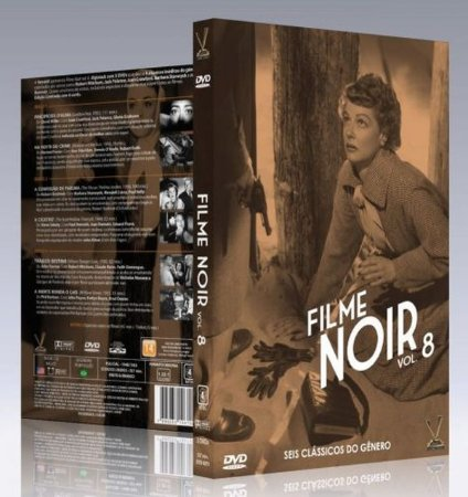 Dvd Filme Noir – Vol. 8 (3 Discos)