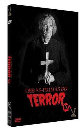 Dvd Obras-primas do Terror Vol. 10 (3 Discos)
