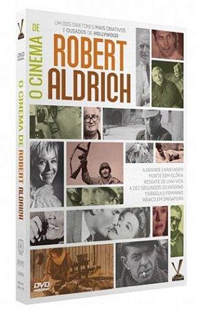 Box Dvd O Cinema de Robert Aldrich - 3 Discos