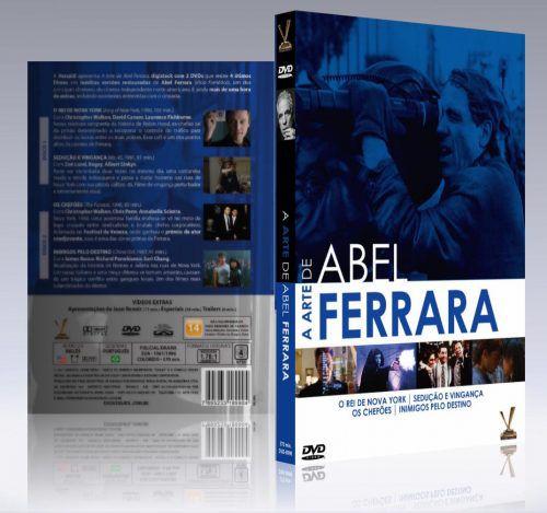 Box Dvd A Arte de Abel Ferrara 2 Dvds