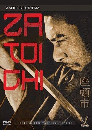 Box Com 2 DVDs - Zatoichi - A Série De Cinema