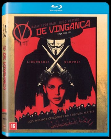 Blu Ray V de Vingança