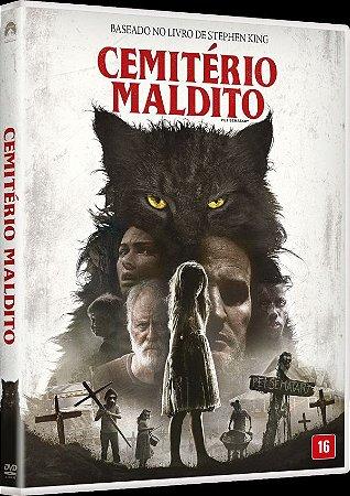 DVD CEMITÉRIO MALDITO 2019