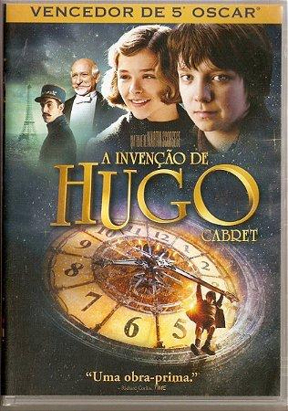 Dvd - A Invenção de Hugo Cabret