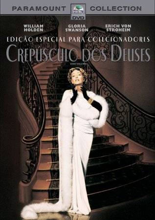 Dvd - Crepúsculo dos Deuses - Gloria Swanson