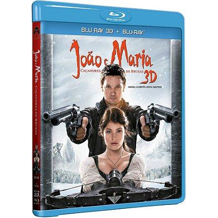 Blu ray 3D + Blu ray - João e Maria:: Caçadores de Bruxas - Jeremy Renner
