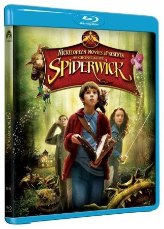 Blu ray - As Crônicas de Spiderwick - Freddie Highmore
