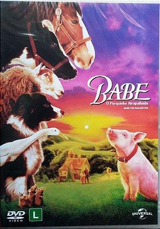 Dvd - Babe: O Porquinho Atrapalhado