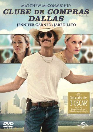 Dvd - Clube de Compras Dallas - Matthew McConaughey