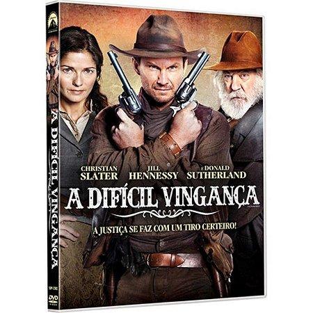 DVD A Dificil Vingança - Christian Slater