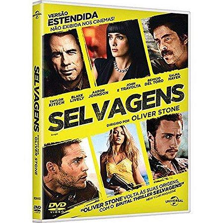 DVD - Selvagens Versão Estendida - John Travolta