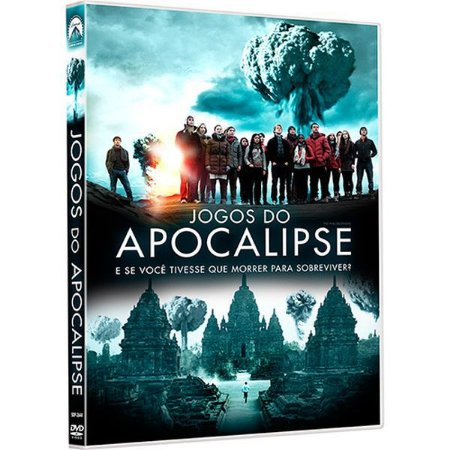 DVD JOGOS DO APOCALIPSE