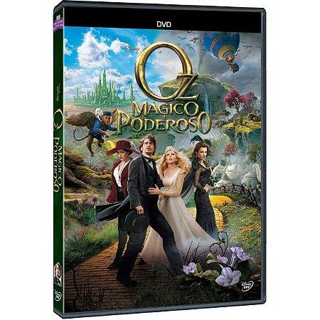DVD OZ - MAGICO E PODEROSO