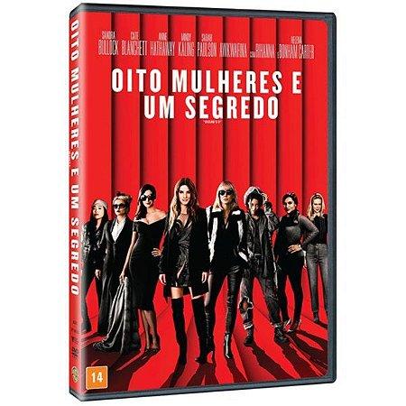 DVD Oito Mulheres E Um Segredo