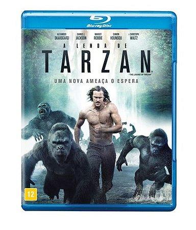 BLU RAY A Lenda de Tarzan - Uma Nova Ameaça o Espera