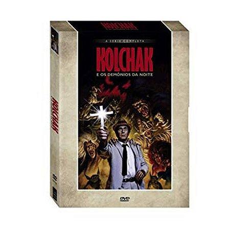 DVD Kolchak e Os Demônios da Noite - 5 Discos